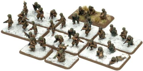 War Gaming  Parachute Rifle Platoon (Winter)  FWUS727  Flames Of War