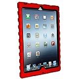iPad mini - Shockdrop - Rugged Case - Red - Black