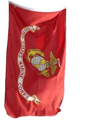 4x6 United States Marine Corps Flag USMC Military Flags by NationalCountry Flags 4 H Flags