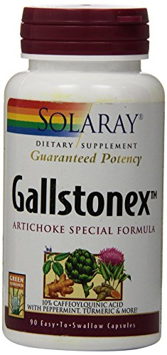 Solaray Gallstonex-Artichoke Special Formula Supplement, 450 mg, 90 Count ()