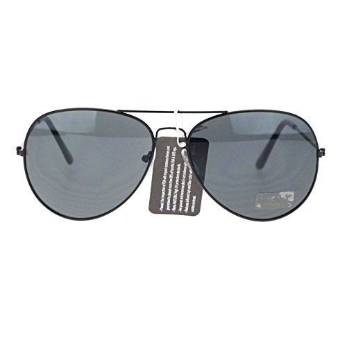 Mens Classic Wire Rim Tear Drop Pilot Aviator Sunglasses - Drop Eyewear