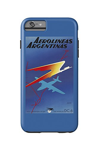 aerolineas-argentinas-vintage-poster-artist-colin-france-c-1950-iphone-6-plus-cell-phone-case-cell-p