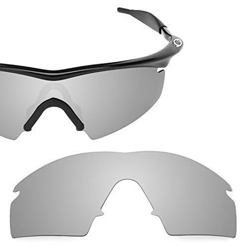 Revant Polarized Replacement Lenses for Oakley M Frame Strike Titanium MirrorShield