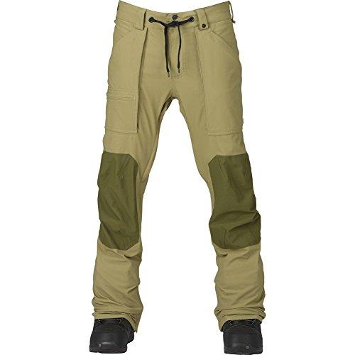 Burton Men's Southside Slim Fit Snow Pant, Rucksack/Keef, Large