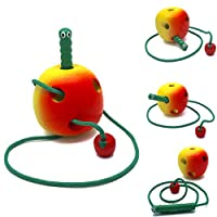 """""""Happiness in Games"""" Wooden Apple Toy"""