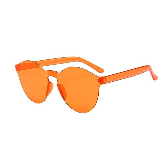 VJGOAL Moda para mujer Gafas de sol sin marco al aire libre ...