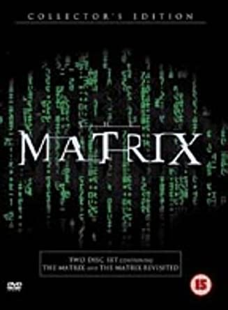 Filme & Dvds Dvds & Blu-rays The Matrix Collector Edition