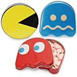 Pac-man Power Pellet and Ghost Sours Candy Tins (Set of 3)