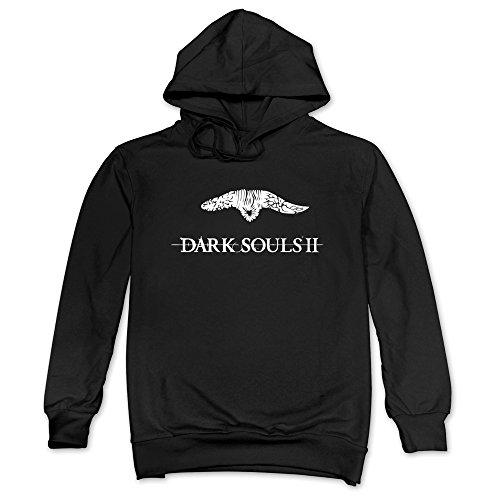 Men's Dark Soul II Smelter Hoodie Black (Playstation Plus 3 Month Membership Digital Code)
