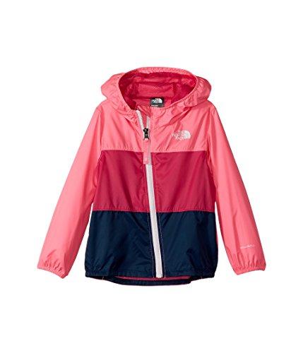 The North Face Infant Flurry Wind Jacket Gem Pink - 18M