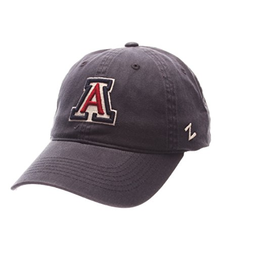 Hat Wildcats Arizona (Zephyr NCAA Arizona Wildcats Men's Scholarship Relaxed Hat, Adjustable Size, Team Color)