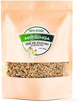 Moringa Flowers Tea - 100% Bio, Pure and Natural - Procure Wellness, Promotes Blood Circulation - Lowers Wrinkles - Boosts Energy Levels and Increases All Organic Nutrients and Minerals