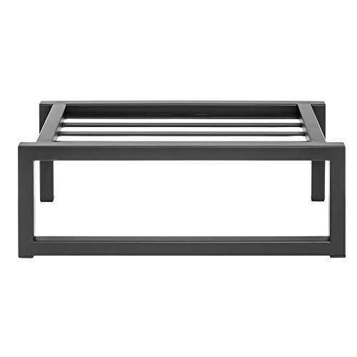 Display Riser Rectangular Black Modular Riser - 6