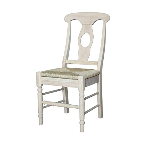 Cheap International Concepts C-1200P Pair of Empire Chairs, Unfinished