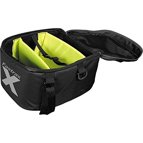 38 Xtreme Series: Water Resistant Reflective Motorcycle Tail Bag, Black, 11 Liter Capacity ()