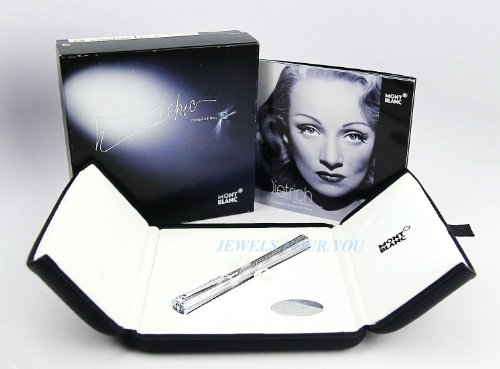 Mont Blanc Skeleton - Montblanc Marlene Dietrich Commemoration Ltd Edition Fountain Pen 101402 New Box