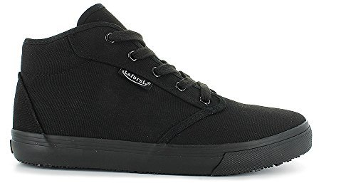 Front Lace Ankle Boot - Laforst Sunbrella SR Women's Work Sneakers Ankle Boot Lace (7 B(M) US, Black)