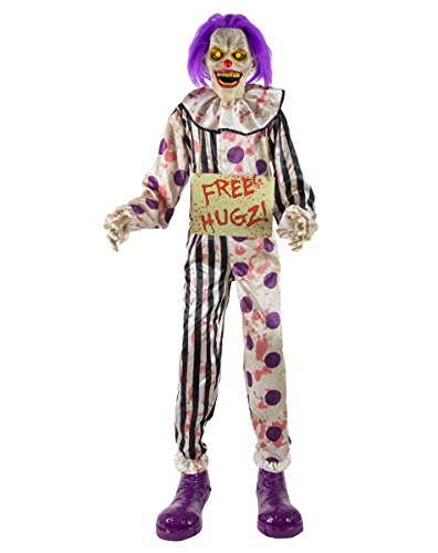 Spirit Halloween Clown Costumes - 6 Ft Hugz The Clown