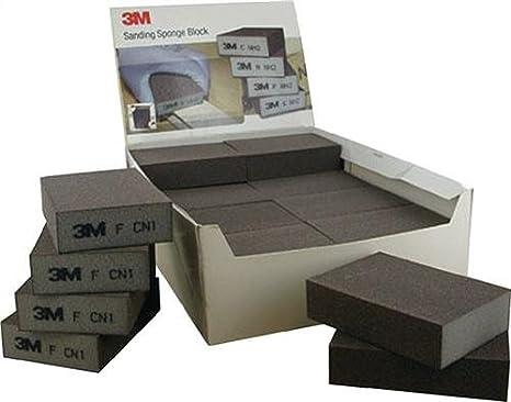 3 M 63220 /éponge de pon/çage Paquet de 24 68 mm x 100 mm x 26 mm Soft grossier