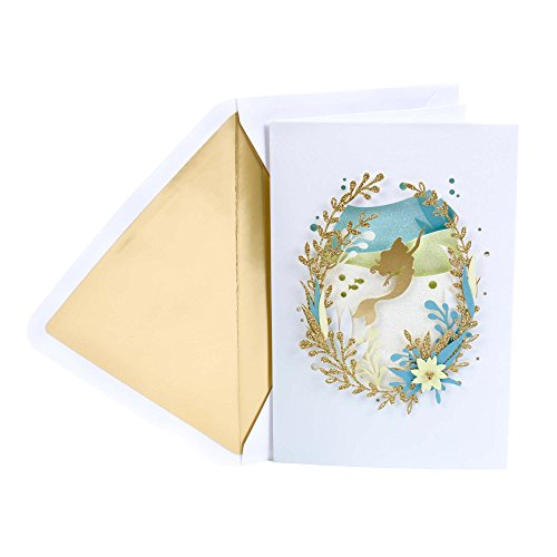 Hallmark Signature Birthday Card (Disney Little Mermaid) -