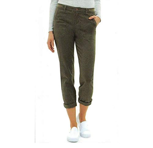 Jones New York Ladies' Chino Pant (10, Olive)
