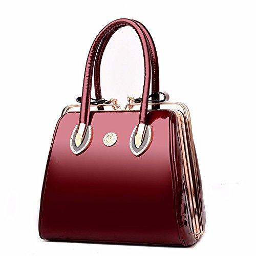 Bandolera rojo Bandolera Rojo Vintage Bolso Crossbody CCZUIML Bag g6FTnqA