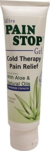 Pain Relief Gel - Ultra Pain Stop - Cooling Topical Pain Reliver for Joint, Back, Arthritis, and Muscle Pain, Fast Acting and Long (Pain Stop)