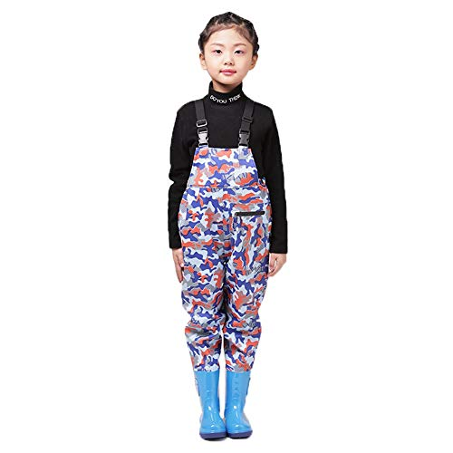 CHXIAN Wader for Kids, Children Waders Light Comfortable Good Water Resistance Suitable for Boys or Girls Fishing Mud…