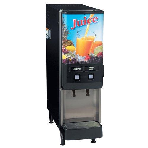 Bunn 37900.0044 JDF-2S Cold Juice Beverage Dispenser,  5 oz.
