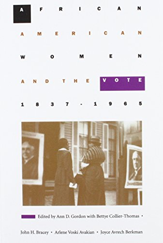 Books : African American Women and the Vote, 1837–1965