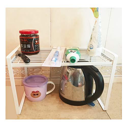 Multipurpose Storage Shelves ,Storage & Home Organization,Dish Drying Rack,Spice Racks,Plant Stand,Room Furniture,Laptop Stand,Metal Shelves (White)