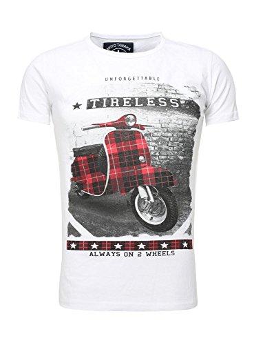 T-Shirt - Tireless Roller - weiß