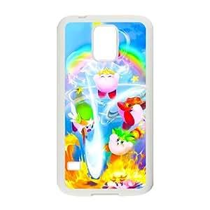 Kirby caso Z6O12G9YM funda Samsung Galaxy S5 funda S3SY43 blanco