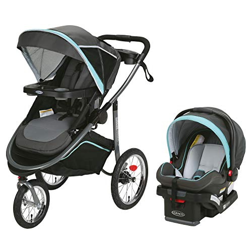 Graco Modes Jogger Travel System | Includes Modes Jogging Stroller and SnugRide SnugLock 35 LX Infant Car Seat, Tenley
