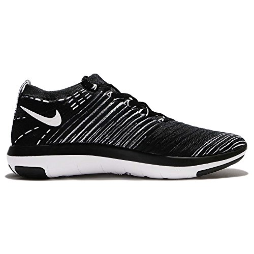 Trainers Focus Black Breathable Womens NIKE Mesh Free White Flyknit AYnUq
