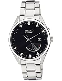 Kinetic SRN045 P1 Black Dial Stainless Steel Automatic Mens Analog Watch