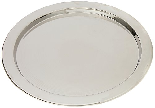 Alessi 5001/32 Engr. Round Tray With Graphic -