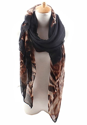 Herebuy Fashion Leopard Lightweight Scarves