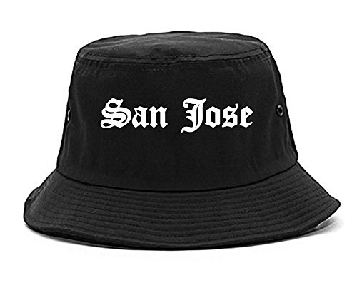 Kings Of NY San Jose City California State CA Bucket Hat Black