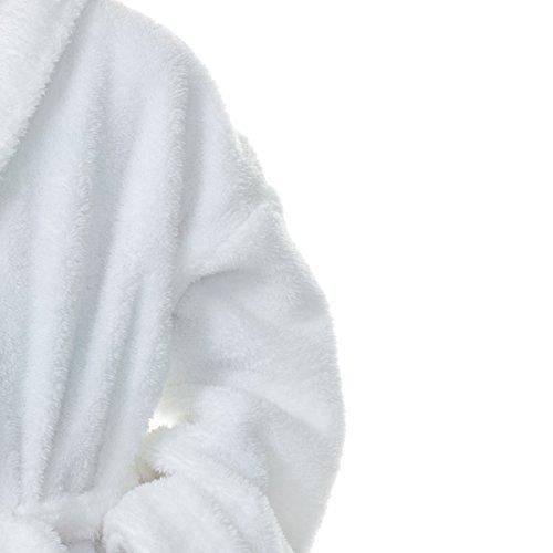 Comfy Robes Baby Girl's Cloud 9 Bathrobe, 18M White