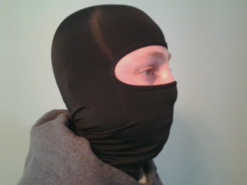 Black Polypropylene Thermal Balaclava Face Mask Hood By (Polypropylene Balaclava)