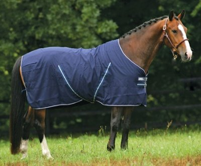 Horseware Rambo Stable Sheet 84 Black/Grey by Rambo