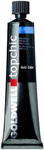 Goldwell Topchic Hair Color Coloration (Tube) 7NN Mid Blonde - Extra by Goldwell