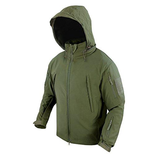 Condor Summit Soft Shell Tactical Jacket, Color Olive Drab, Size Medium