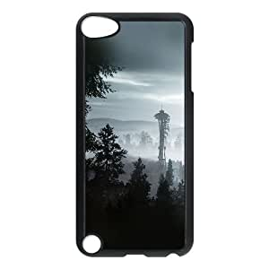 iPod Touch 5 Case Black ac73 seattle view day mountain J3W1IN