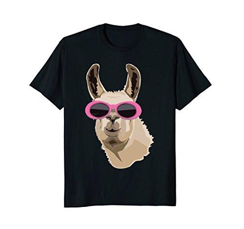 Mens Llama Clout Goggles Shirt: Llama EDM Hip Hop Rappers T-shirt Large - Amazon Goggles Clout