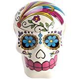 Day of The Dead Candy Skull Cookie Jar