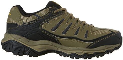 Skechers Men's Afterburn Memory-Foam Lace-up Sneaker 12