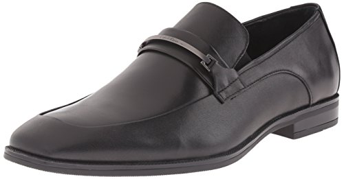 Calvin Klein Men's Horrace Leather Oxford, Black, 10.5 M US by Calvin Klein