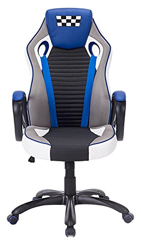 413WK7tKI6L - [Ergonomic Large Size High-back Reclining Office Gaming Chair] Andaseat Big and Tall Swivel Rocker Tilt E-sports Chair, with Height Adjustable with Lumbar Support and Headrest(White/Black/Orange)